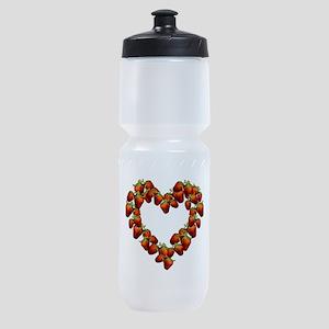 strawberry-heart Sports Bottle