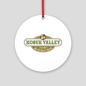 Kobuk Valley National Park Ornament (Round)
