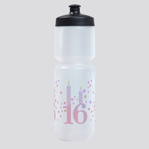 birthday-16-candle_tr Sports Bottle
