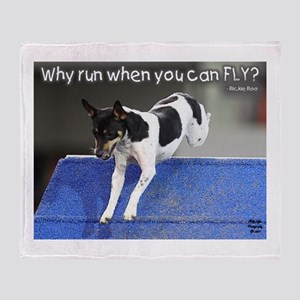 Why Run When You Can FLY photo M. Lifer Throw Blan