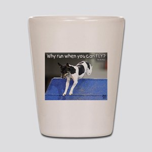 Why Run When You Can FLY photo M. Lifer Shot Glass