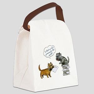 Cairn Terrier Premium Canvas Lunch Bag