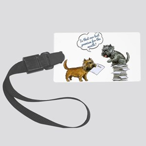 Cairn Terrier Premium Luggage Tag