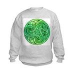 Celtic Triskele Kids Sweatshirt