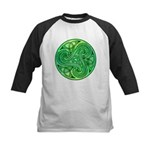 Celtic Triskele Kids Baseball Jersey