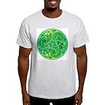 Celtic Triskele Ash Grey T-Shirt