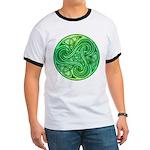 Celtic Triskele Ringer T