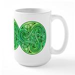 Celtic Triskele Large Mug