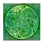 Celtic Triskele Tile Coaster