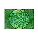 Celtic Triskele Rectangle Magnet