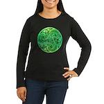 Celtic Triskele Women's Long Sleeve Dark T-Shirt