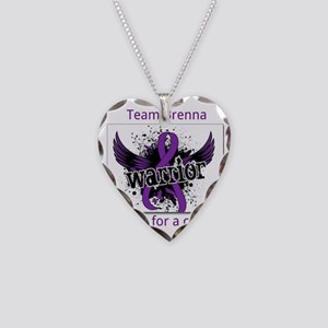 chiari malformation 1 Necklace Heart Charm