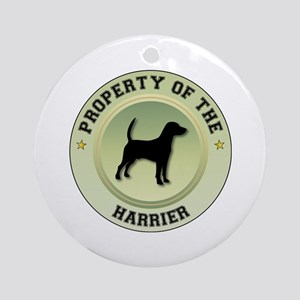 Harrier Property Ornament (Round)