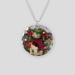 Christmas Prairie dog Necklace