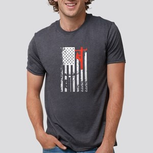 Lineman Flag Shirt T-Shirt