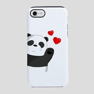 Cute panda iPhone 7 Tough Case