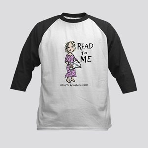 Read To Me 1 Kids Baseball Jersey