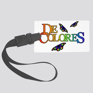DeColores Notecard Large Luggage Tag