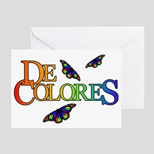 DeColores Notecard Greeting Card