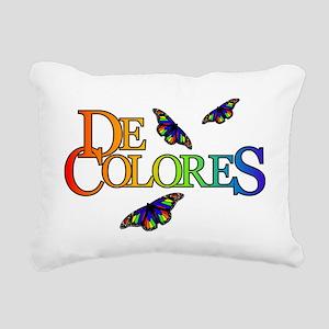 DeColores Notecard Rectangular Canvas Pillow