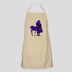 Alice with Fawn Purple Fill Apron