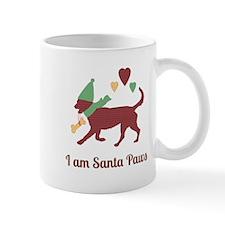 I am Santa Paws Mugs