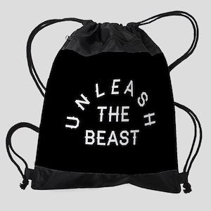Unleash The Beast Drawstring Bag