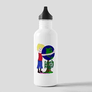 Earth Hugger Boy Stainless Water Bottle 1.0L