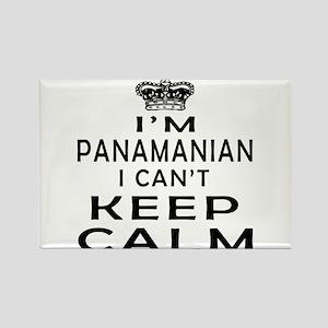I Am Panamanian I Can Not Keep Calm Rectangle Magn