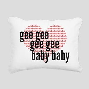 Gee Rectangular Canvas Pillow