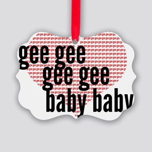 Gee Picture Ornament
