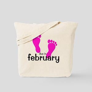 pinkfeet_duein_february Tote Bag