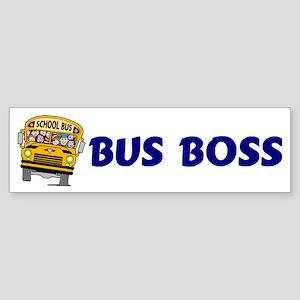 Bus Boss Bumper Sticker