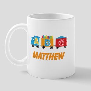 Personalized Alphabet Train Mugs