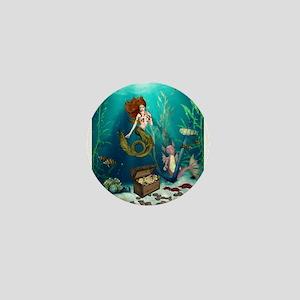 Best Seller Merrow Mermaid Mini Button