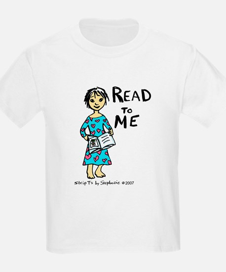 Read To Me 2 Kids T-Shirt