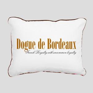 Dogue De Bordeaux Rectangular Canvas Pillow