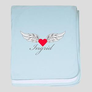 Angel Wings Ingrid baby blanket