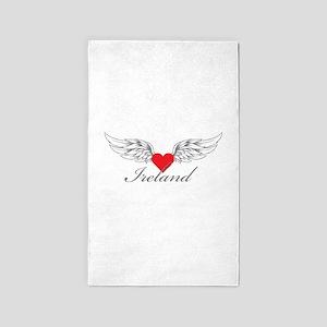 Angel Wings Ireland 3'x5' Area Rug