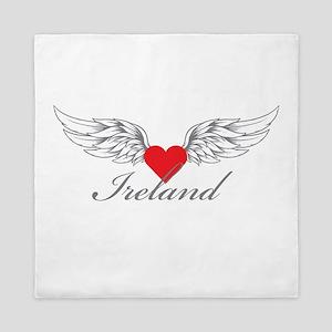 Angel Wings Ireland Queen Duvet