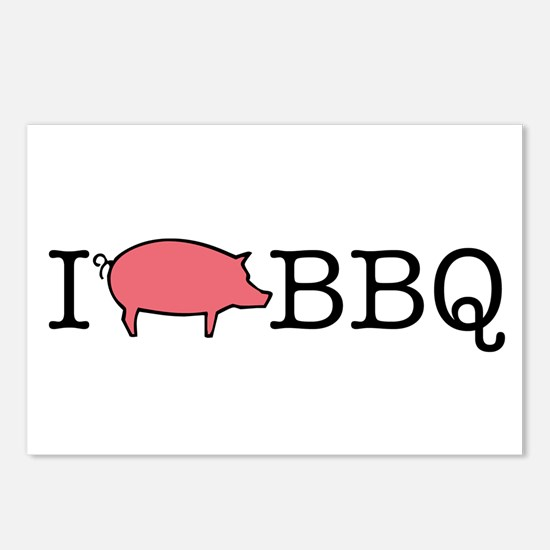 I Cook BBQ Postcards (Package of 8)