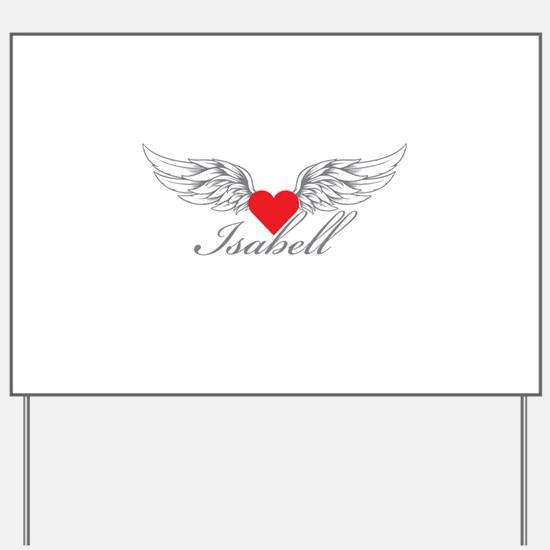 Angel Wings Isabell Yard Sign