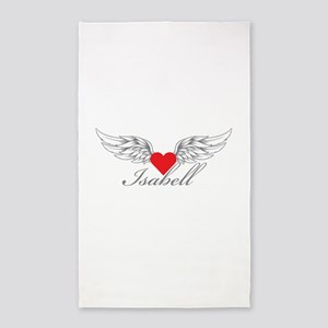 Angel Wings Isabell 3'x5' Area Rug