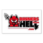 Dinners From Hell Sticker