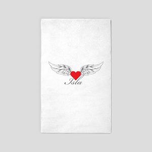 Angel Wings Isla 3'x5' Area Rug