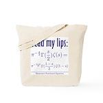 Riemann's Functional Equation Tote Bag