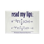 Riemann's Functional Equation Rectangle Magnet (10