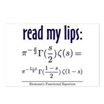 Riemann's Functional Equation Postcards (Package o