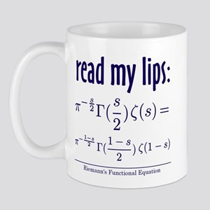 Riemann's Functional Equation Mug