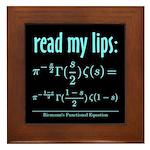 Riemann's Functional Equation Framed Tile